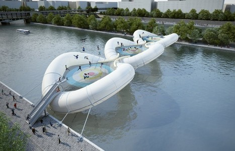 Inflatable Trampoline Bridge in Paris | All About Longboarding | Scoop.it