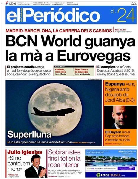 Portades de la Premsa Catalana d'Avui - Dilluns 24.06.13   AC Affairs   Scoop.it
