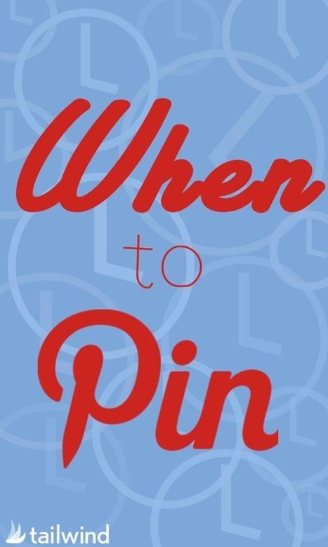 When to Pin - Tailwind Blog: Pinterest Analytics and Marketing Tips, Pinterest News - Tailwindapp.com | Pinterest | Scoop.it