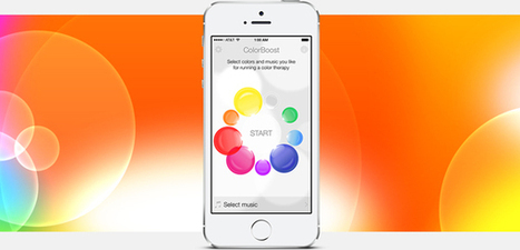 Colorboost – a Color and Music Therapy iOS Application to Help You to Relax and De-stress | Mobile Development & Design (iOS & Android) | Scoop.it