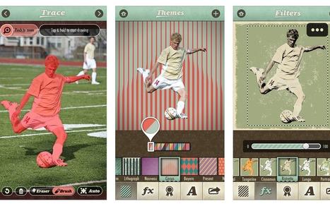 Apple Caffè: GRATIS per POCHE ORE: stupenda App per fotomontaggi ed effetti retrò | fotomontaggi | Scoop.it