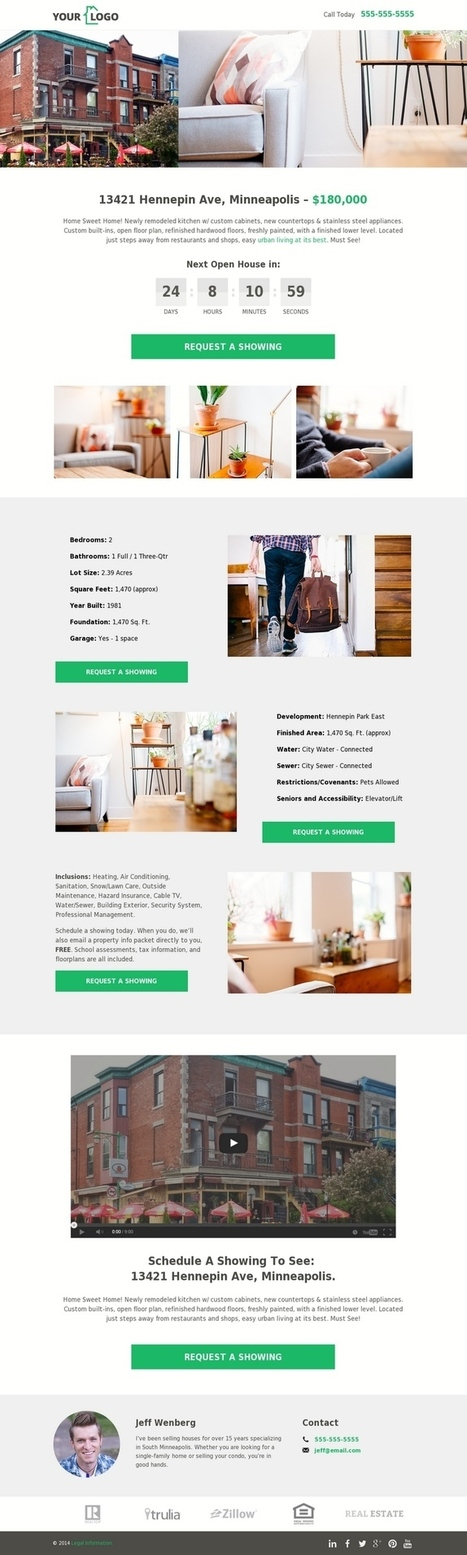 5 Real Estate Templates for Building High-Converting Landing Pages - LeadPages Blog | Free Landing Page Templates | Grow hack | Scoop.it