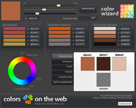 The 25 best tools for choosing a colour scheme | TICE, Web 2.0, logiciels libres | Scoop.it