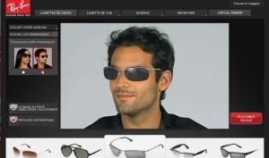 Réalité augmentée : Essayer vos lunettes en ligne avec Ray-Ban | Actinnovation.com© | La réalité augmentée | Scoop.it