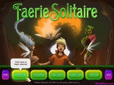 Download Faerie Solitaire Free Full Version Game for PC & Mac | Fun Solitaire game | Scoop.it