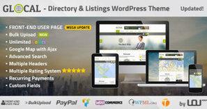 GLOCAL - Directory & Listings Wordpress Theme v1.9 | Wordpress Themes | Scoop.it