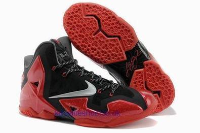 Nike Lebron 11 P.S. Elite Mens Basketball Shoe Red Black Trainer.jpg (465x309 pixels)   fashionshoes   Scoop.it