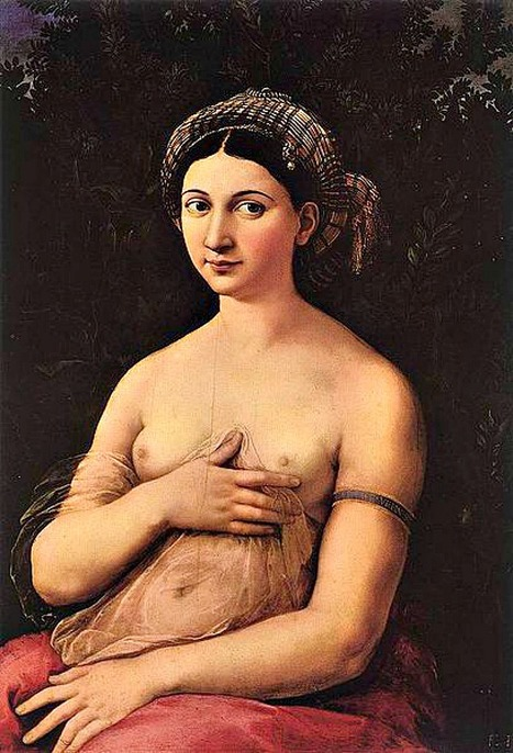 Italy's Most Mysterious Paintings: Raphael's La Fornarina | Le Marche another Italy | Scoop.it