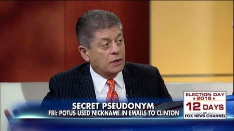 Judge Nap: Obama 'Lied Directly and Pointedly' to the Nation About Hillary's Emails - Splurge News | Criminal Justice in America | Scoop.it