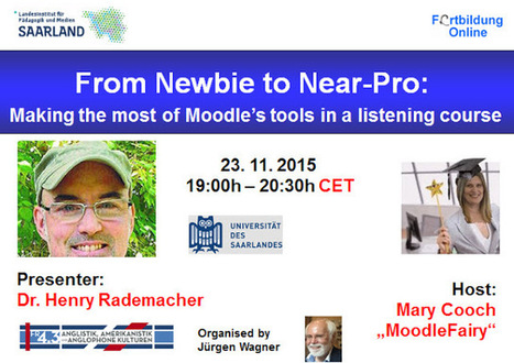 Invitation to a FREE Moodle-related BEST PRACTICE webinar : From Newbie to Near-Pro | Educación y TIC | Scoop.it