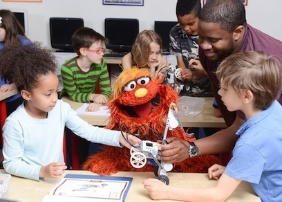 Starting STEM Early with Online Hub from Sesame Street - Getting Smart by Megan Mead - elementary, Online Learning, preK, STEM | Edtech PK-12 | Scoop.it