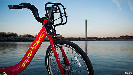 How do bike-sharing schemes shape cities? - The Economist (blog) | ride the city | Scoop.it