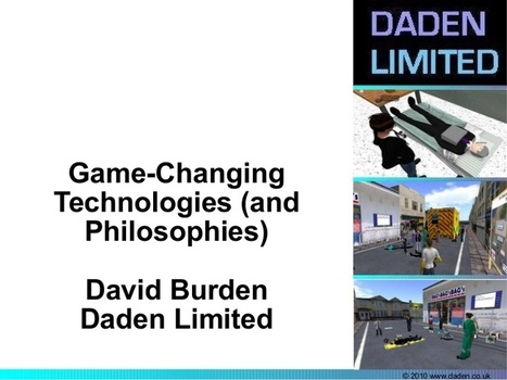 Virtual Worlds - Game Changing Philosophies | S... | Virtual University: Education in Virtual Worlds | Scoop.it