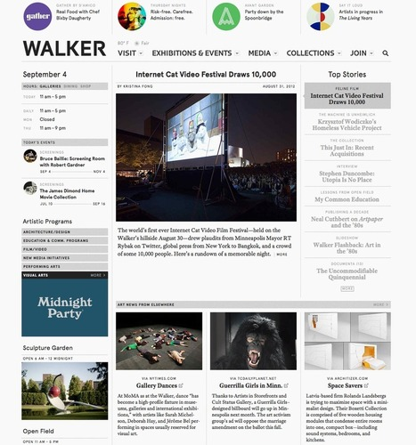 Beyond Interface: #Opencurating and the Walker's Digital Initiatives — Media Lab — Walker Art Center | Art, Technology & Education | Scoop.it