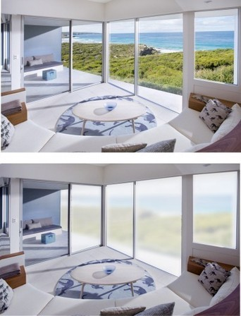 Sonte Film controls a window's opacity with a smartphone | GizMag.com | Kitchen Remodeling | Scoop.it