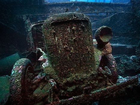 The Sunken Wartime Tanks & Car Wrecks of Truk Lagoon, Micronesia | Urban Ghosts | | ScubaDiving | Scoop.it