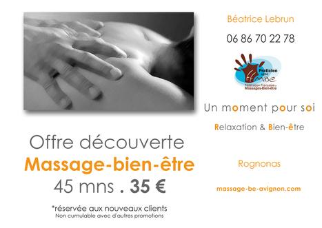 Un moment pour soi | massage entre Saint-Remy de Provence et Avignon | Massage bien-être | Scoop.it
