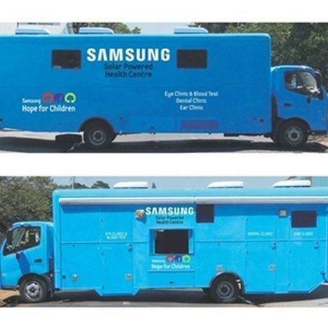 Samsung introduces Africa's first solar powered mobile healthcare center in Cape Town | Digital Sustainability | Scoop.it