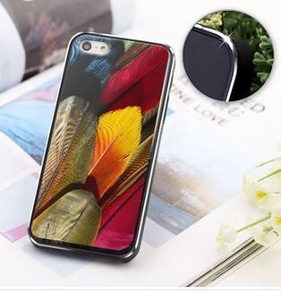 Beautiful colorful feathers iPhone 5 case | Apple iPhone and iPad news | Scoop.it