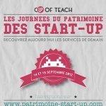 Les Journées du Patrimoine des start-up : une version dépoussiérée ! | Social News and Trends | Scoop.it