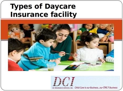 Types of Daycare Insurance Facility | Insurance Company | Scoop.it