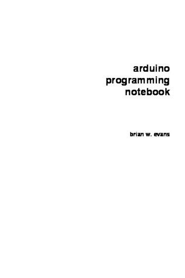 Arduino Programming Notebook | Raspberry Pi | Scoop.it