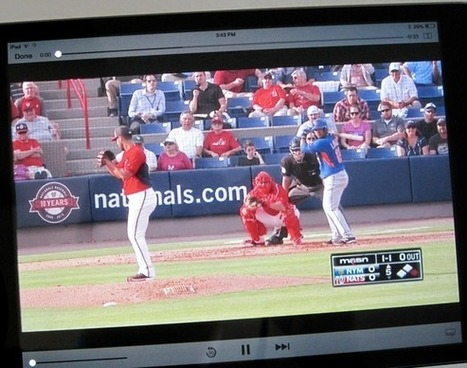 stream Major League Baseball games to all your favorite devices - TechHive | CLOVER ENTERPRISES ''THE ENTERTAINMENT OF CHOICE'' | Scoop.it