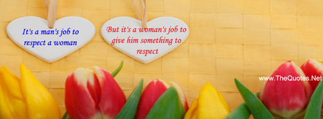 Facebook Cover Image - Respcet for MAn and Women - TheQuotes.Net | Videos for qpt | Scoop.it