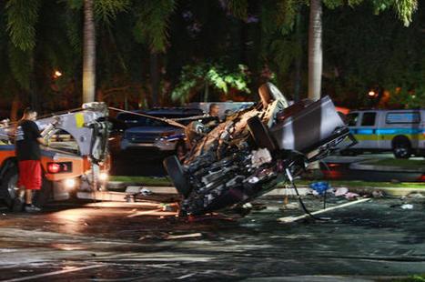Car crashes at Hallandale police department after pursuit; 4 in custody | Criminal Defense Lawyer | Scoop.it