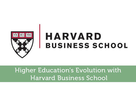 Higher Education's Evolution with Harvard Business School - Modest Money | Airline Miles | Scoop.it