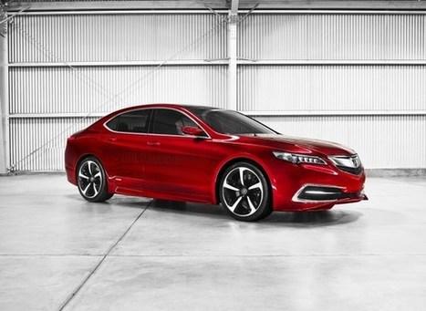 2014 Acura TLX Concept - Modifycar | modifycar.org | Scoop.it