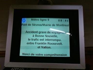 """""""Accident voyageur"""": l'épidémie qui frappe les transports en commun   Scilogs.fr : L'actu sur le divan   PsyMag   Scoop.it"""