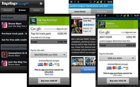 Google begins rolling out in-app billing version 3 for developers   Sniffer   Scoop.it