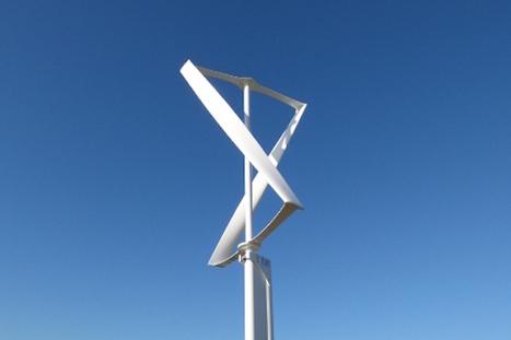 Une éolienne prête à brancher  - | Eco & Bio | Scoop.it