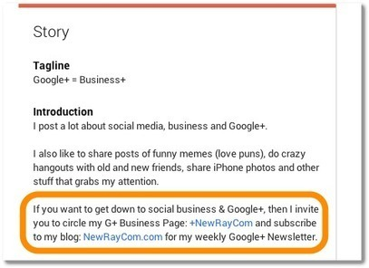 Comment on Do You Need Both a Google+ Page and a Profile? by Matthew Wade | SocialMedia_me | Scoop.it