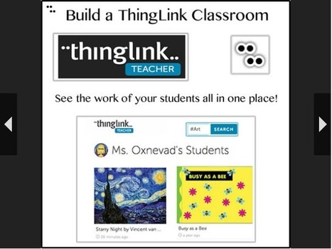 Cool Tools for 21st Century Learners: A ThingLink Channel for Teachers | Apps | Scoop.it