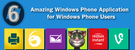 6 Amazing Windows Phone Application for Windows Phone Users   Web Development Blog, News, Articles   Scoop.it