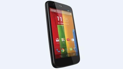 Motorola lance son Moto G à 169 euros - Le Figaro | Moto G | Scoop.it