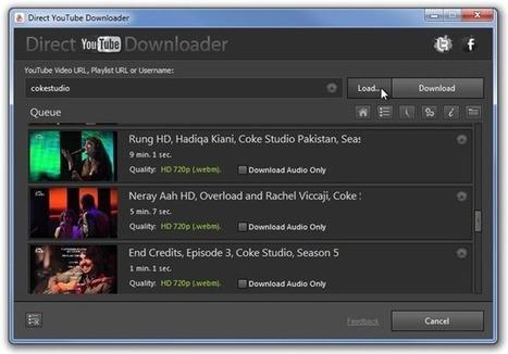 Une application pour télécharger toutes les vidéos Youtube d'une Playlist, d'une chaîne ou d'un utilisateur | netnavig | Scoop.it