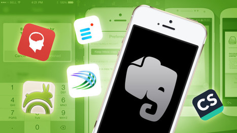 The Best Evernote Apps for Organizing Even More of Your Life | Apps for productivity in teaching | Scoop.it