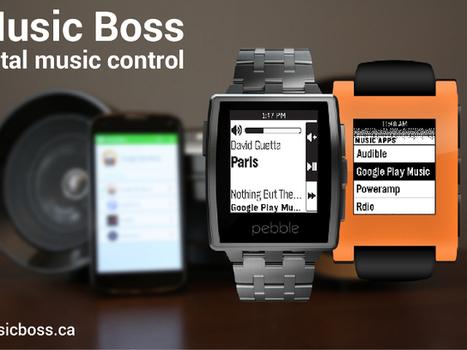Music Boss : contrôlez le Google Chromecast depuis votre smartwatch Pebble   Freewares   Scoop.it