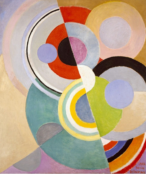 On Display : Color Moves – The Art of Sonia Delaunay | The Bohmerian | More info on textiles for further reading | Scoop.it