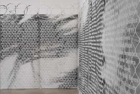 Andrea Bowers, No Olvidado - Not Forgotten | Art Installations, Sculpture, Contemporary Art | Scoop.it