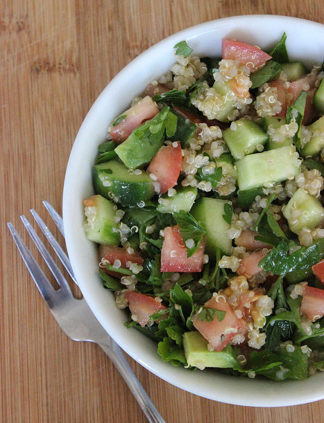 A Detoxifying Spring Salad Jennifer Aniston Swears By | fitness, health,news&music | Scoop.it
