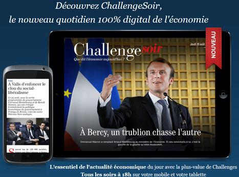 Challenges se développe sur le Web payant   DocPresseESJ   Scoop.it