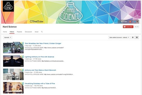 Learning Never Stops: 9 Science Centered YouTube Channels for teachers and students | Tech Tools in Education | Scoop.it