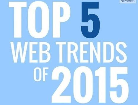 5 tendances web pour 2015 en infographie | Actualités sur les nouvelles technologies et les innovations web, réseaux sociaux , smartphones et tablettes | Scoop.it
