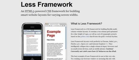 Rendre dynamique son CSS avec Less | La Rédac' en parle | Social Input | Scoop.it