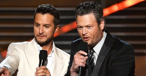 Blake Shelton and Luke Bryan will be making sweet music together in paradise | Country Music Today | Scoop.it