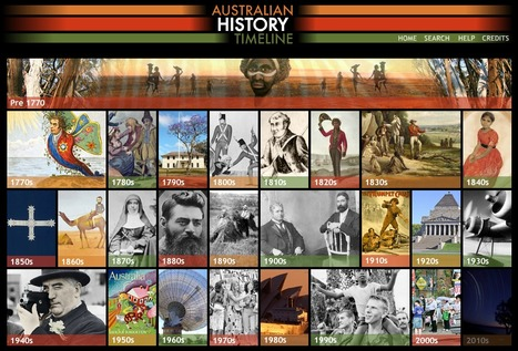 Interactive Australian History Timeline | Stage 3 Change and Continuity (CCS3.1): Significant events that have shaped Australia's identity | Scoop.it